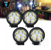 Round LED Flood Lights Pair | Vehicle Parts & Accessories for sale in Central Region, Kampala